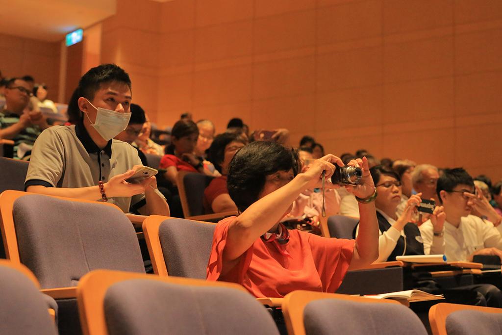出席長照專題研討成員,聆聽講者豐富經驗收獲滿滿。