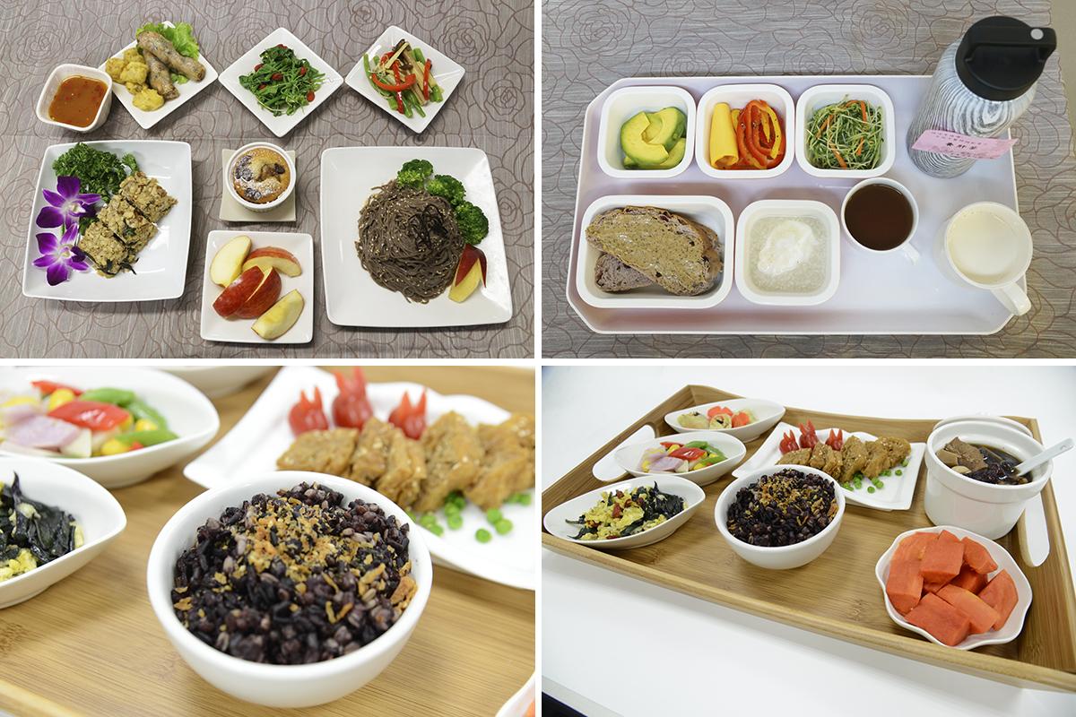 均衡飲食對健康很重要,每日三餐應攝取的六大類食物:全穀雜糧、蛋白質、蔬菜、水果、乳品與堅果種子。