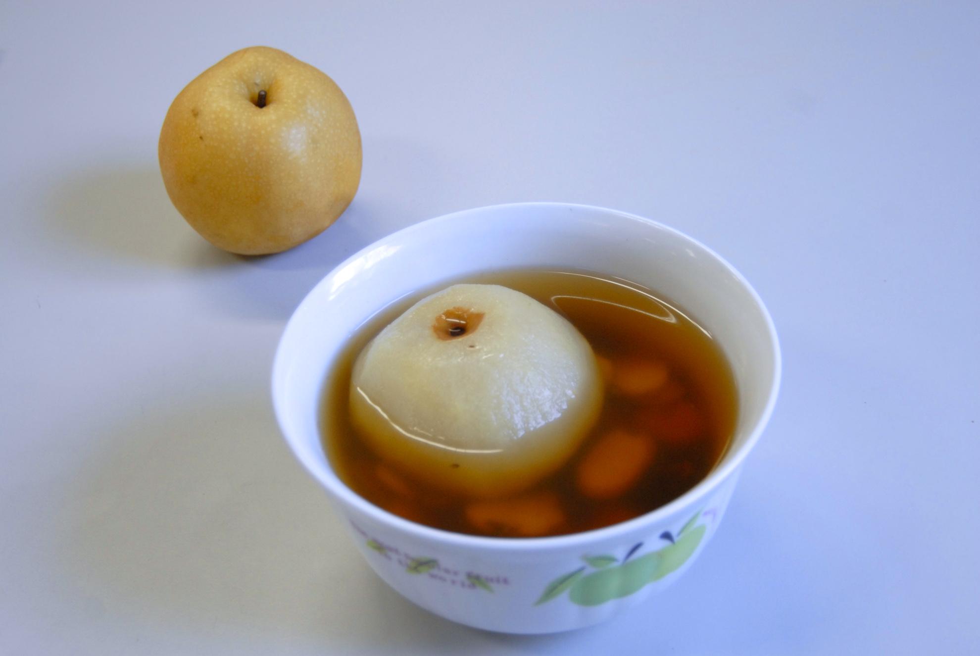 貝母燉梨汁