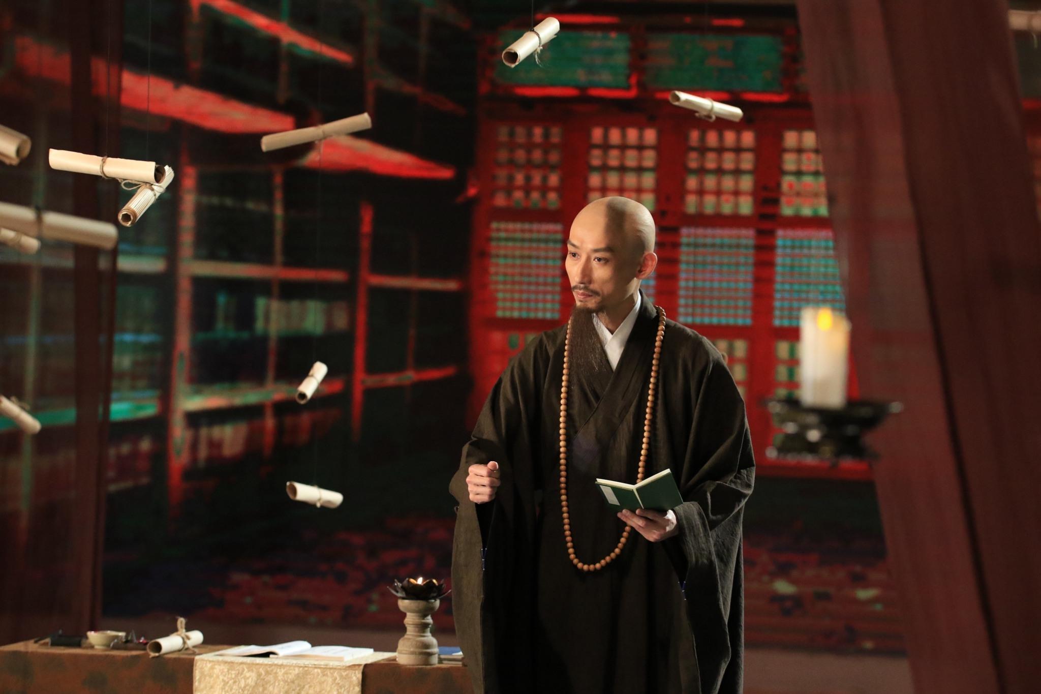 金鐘影帝陳竹昇跨界演出釋贊寧法師 大愛電視提供