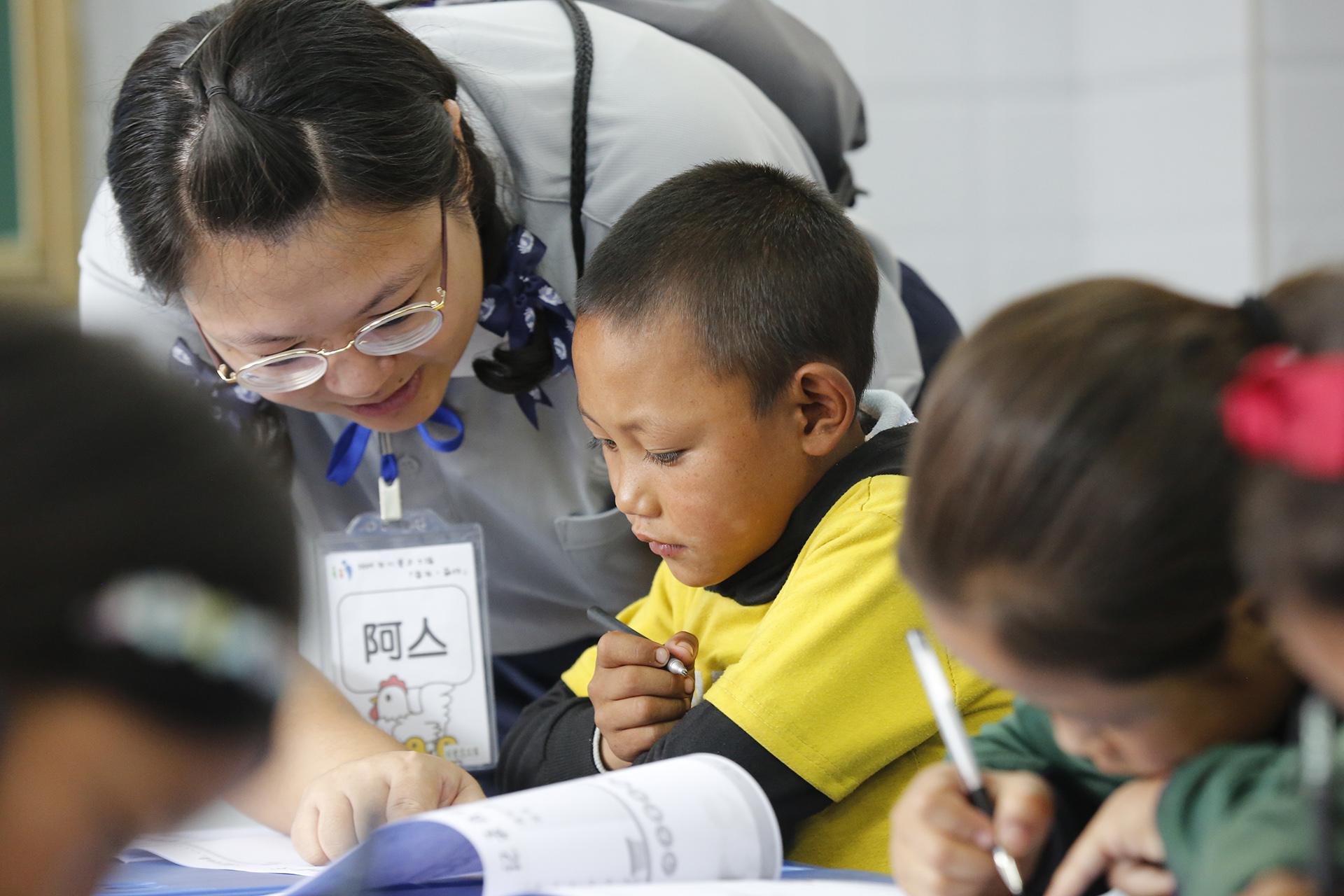 林亼鈺同學目前就讀慈大教育研究所,平日熱心服務。