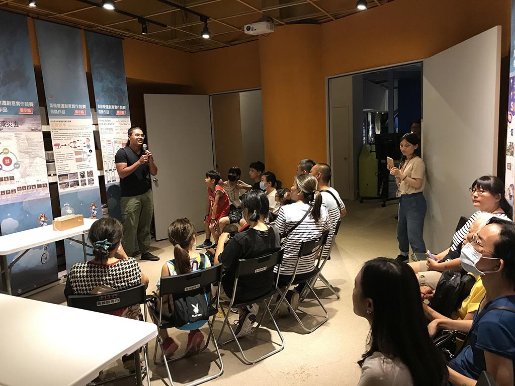 7月26日—國立屏東科技大學團隊「起死肥生」分享作品「堆肥排氣系統及其控制方式」。
