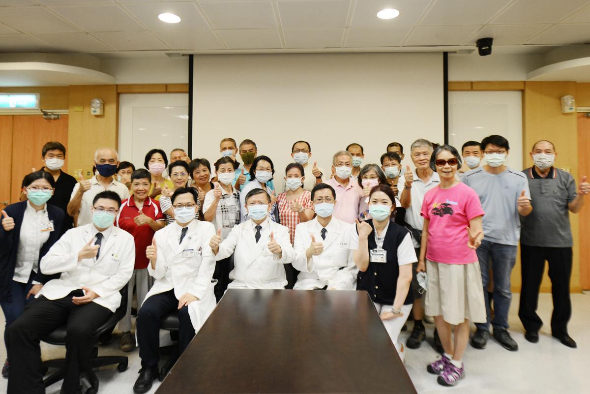 台北慈濟醫院於8月1日舉辦第一屆「用愛守護肝病友會」。