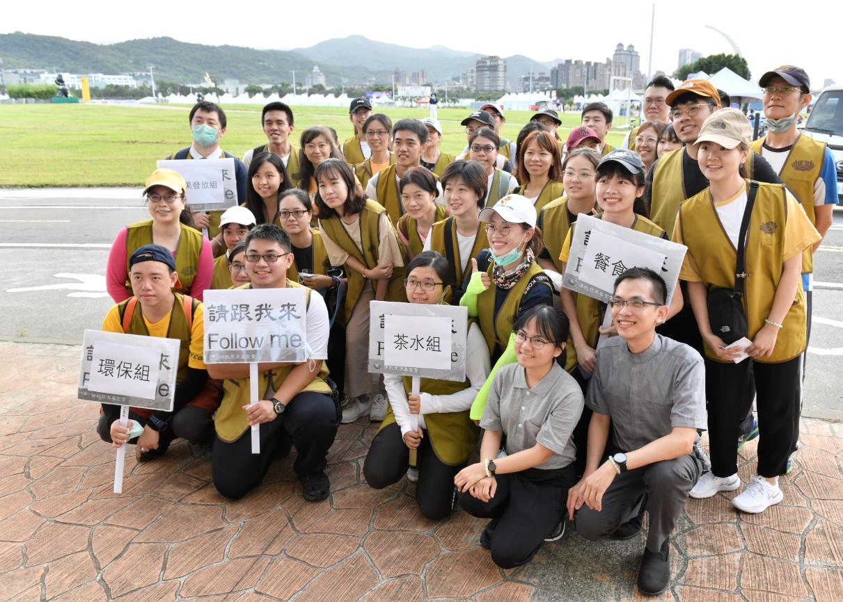 慈濟號召青年共同報名響應,鼓勵年輕人以親身參與公益行動,實踐慈善助人的利他行為。
