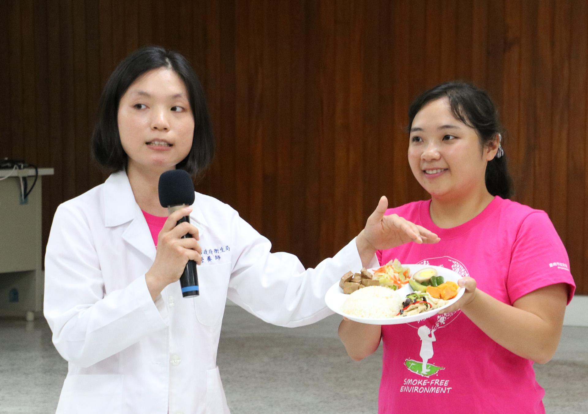 營養師李季樺介紹如何吃得健康、補充足夠植物蛋白質。