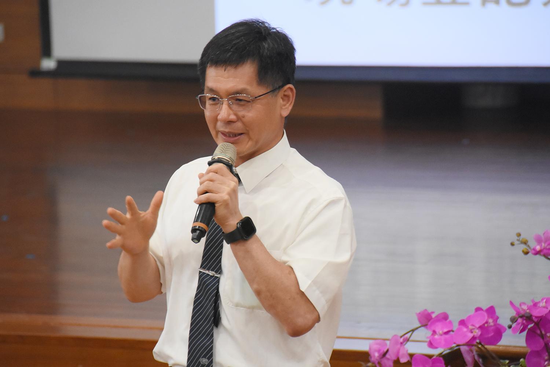 慈濟科技大學校長羅文瑞表示,學校提供許多海外交流機會。