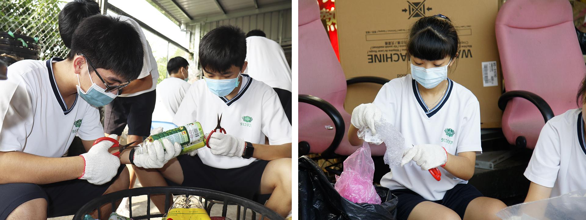 小小寶特瓶扣環、塑膠分類均有有大大學問,用心即是專業。