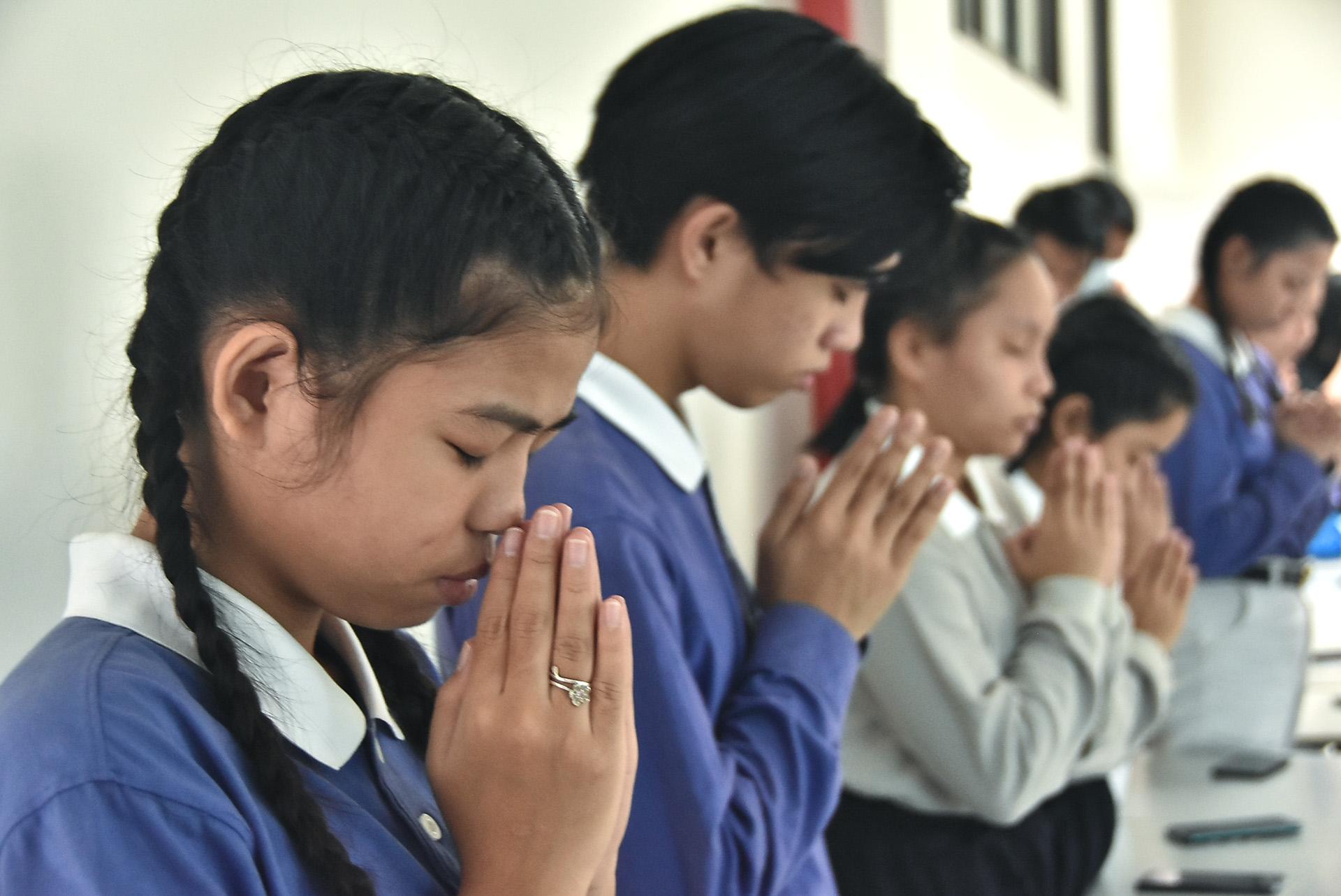 慈濟科技大學菲律賓學生主動募心募愛,祈禱家鄉盡快復原。