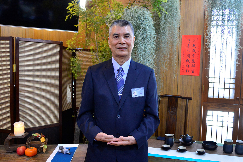 越南台商林坤旺經營鞋廠出口,志工一句話「有一缺九」讓他改變人生方向。(攝影:歐明達)