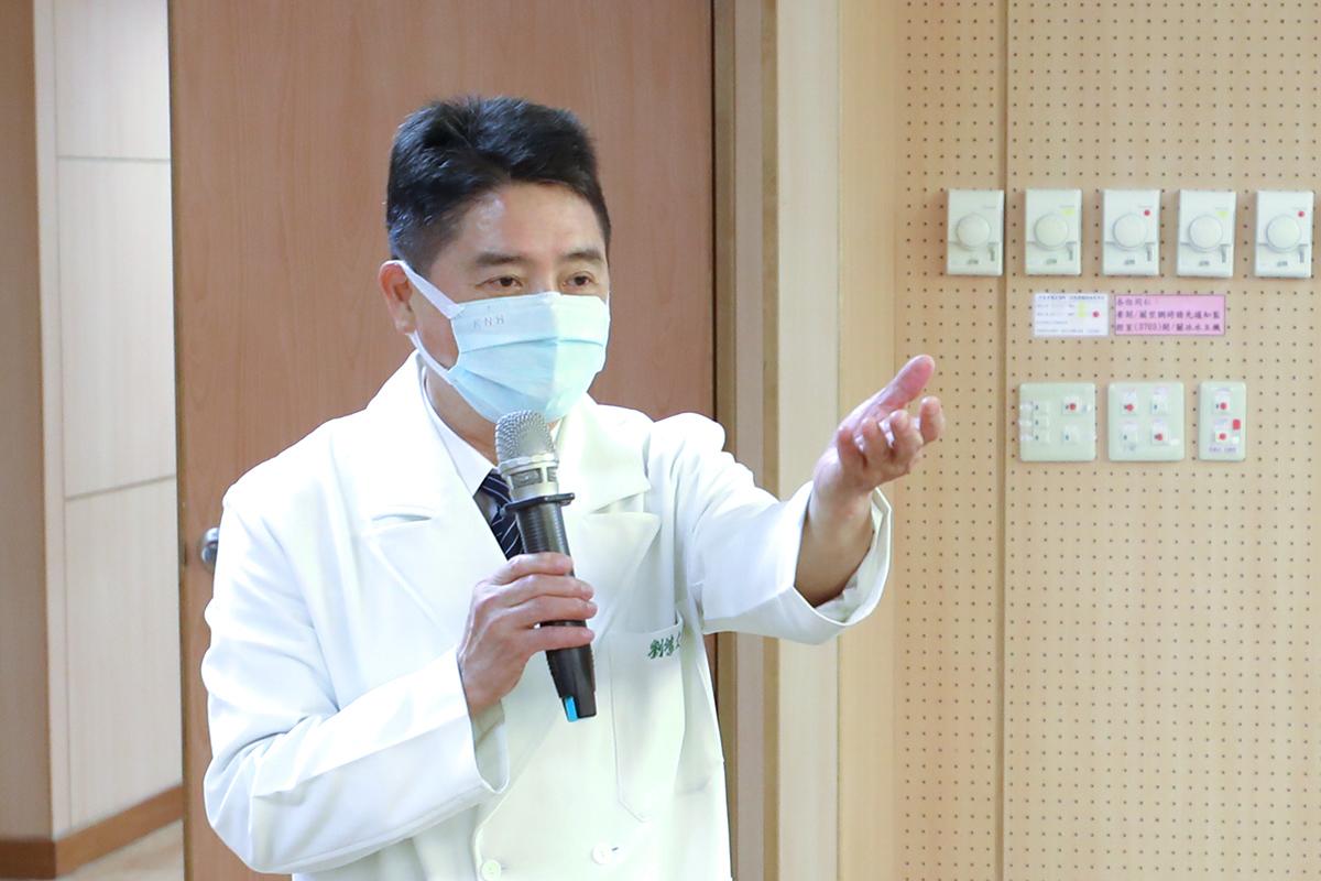 花蓮慈濟醫院職業醫學科主任劉鴻文教授