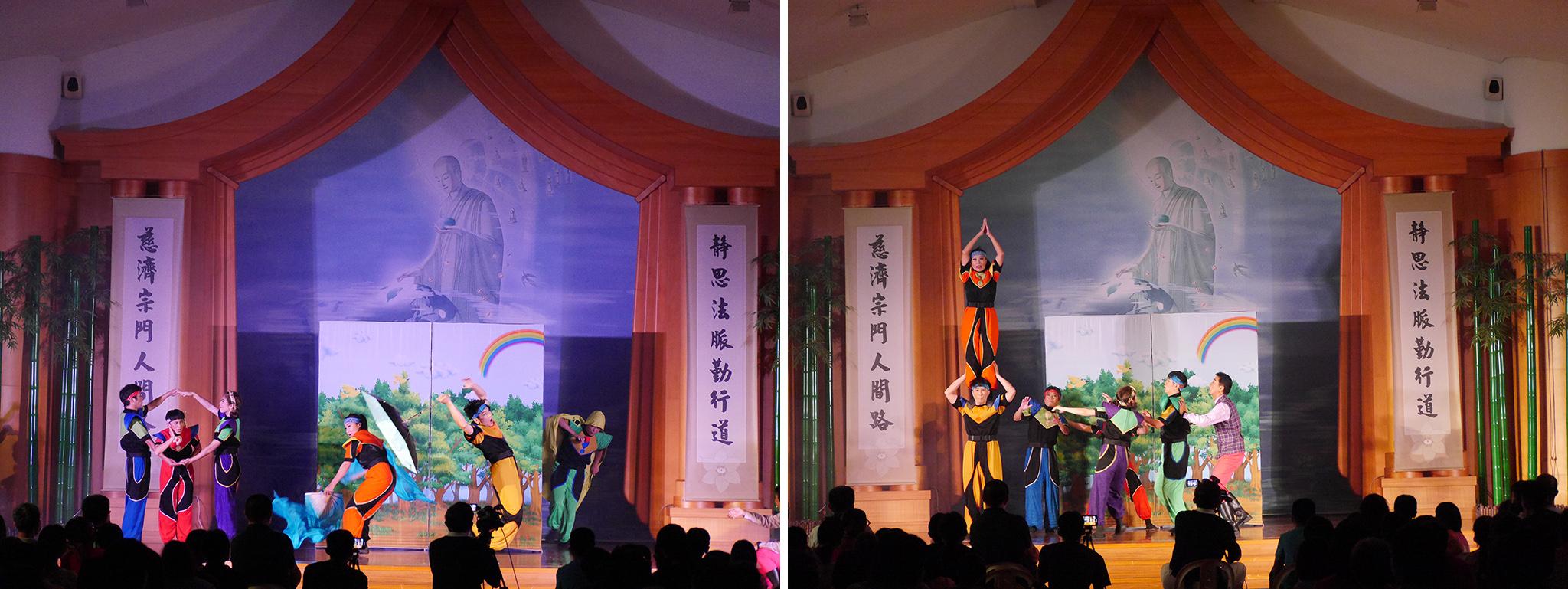 紙風車劇團帶來「福爾摩沙我的家」,參與式互動劇。