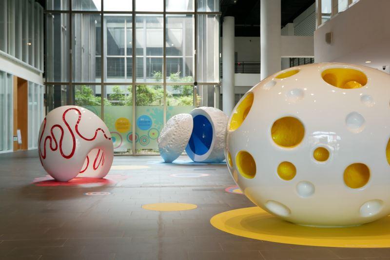 國美館「赫威.托雷玩藝術」展場。