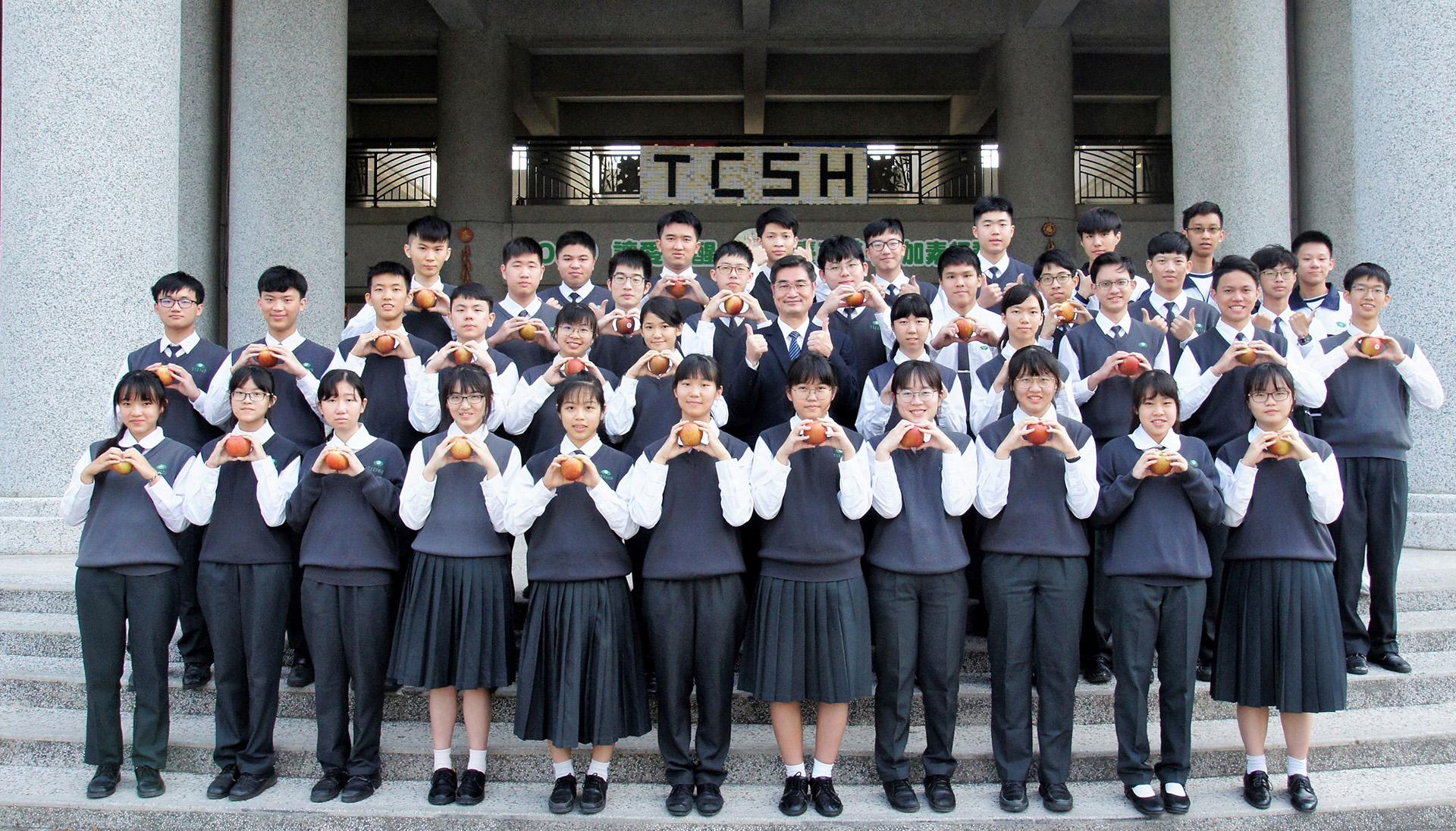 110年學測臺南慈濟高中學生奪得佳績,總計4科55級分以上達11人次,50級分以上達23人次。