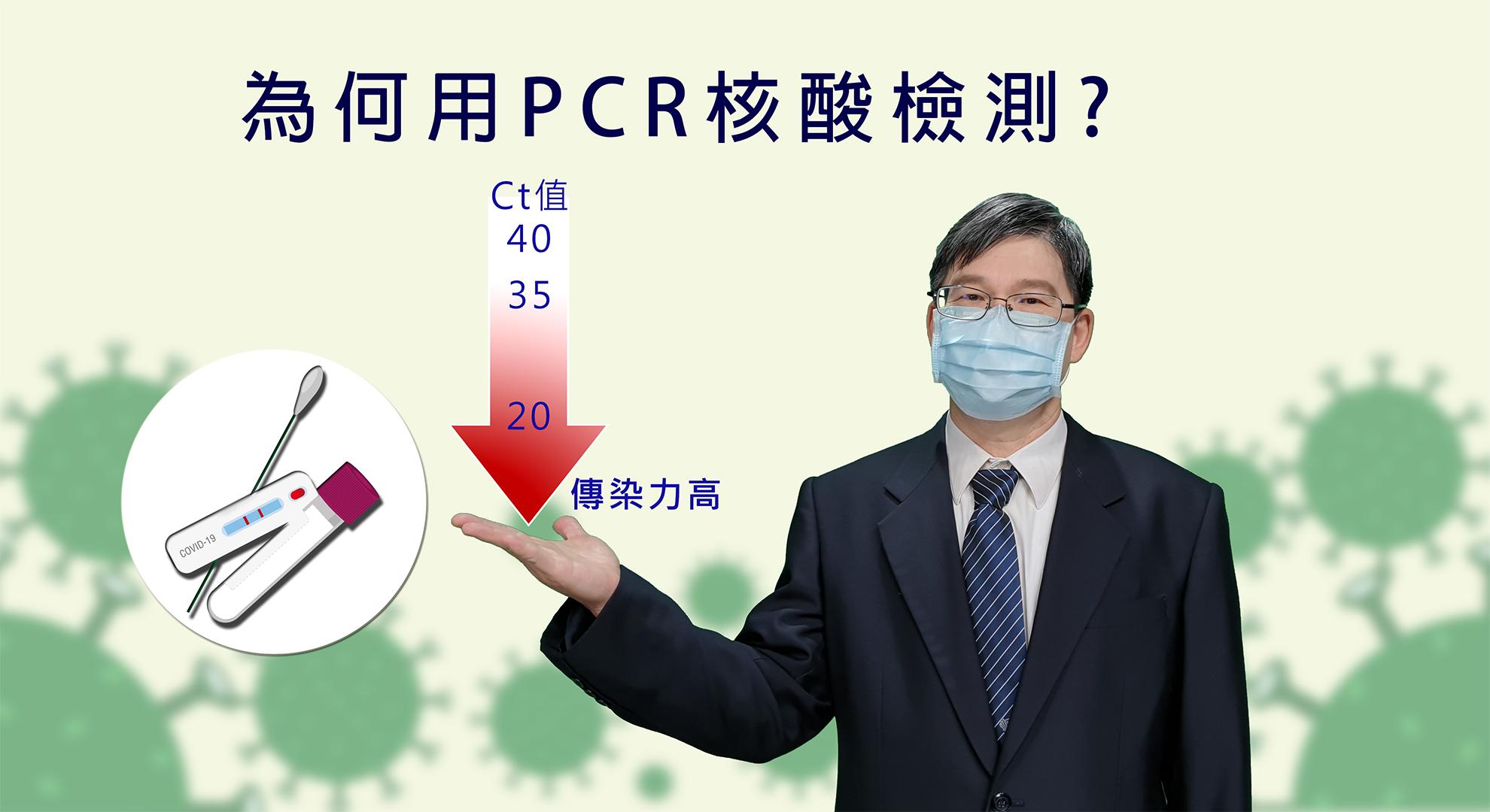 當Ct值低時,代表PCR循環次數少即可偵測到,表示患者的病毒數量高。