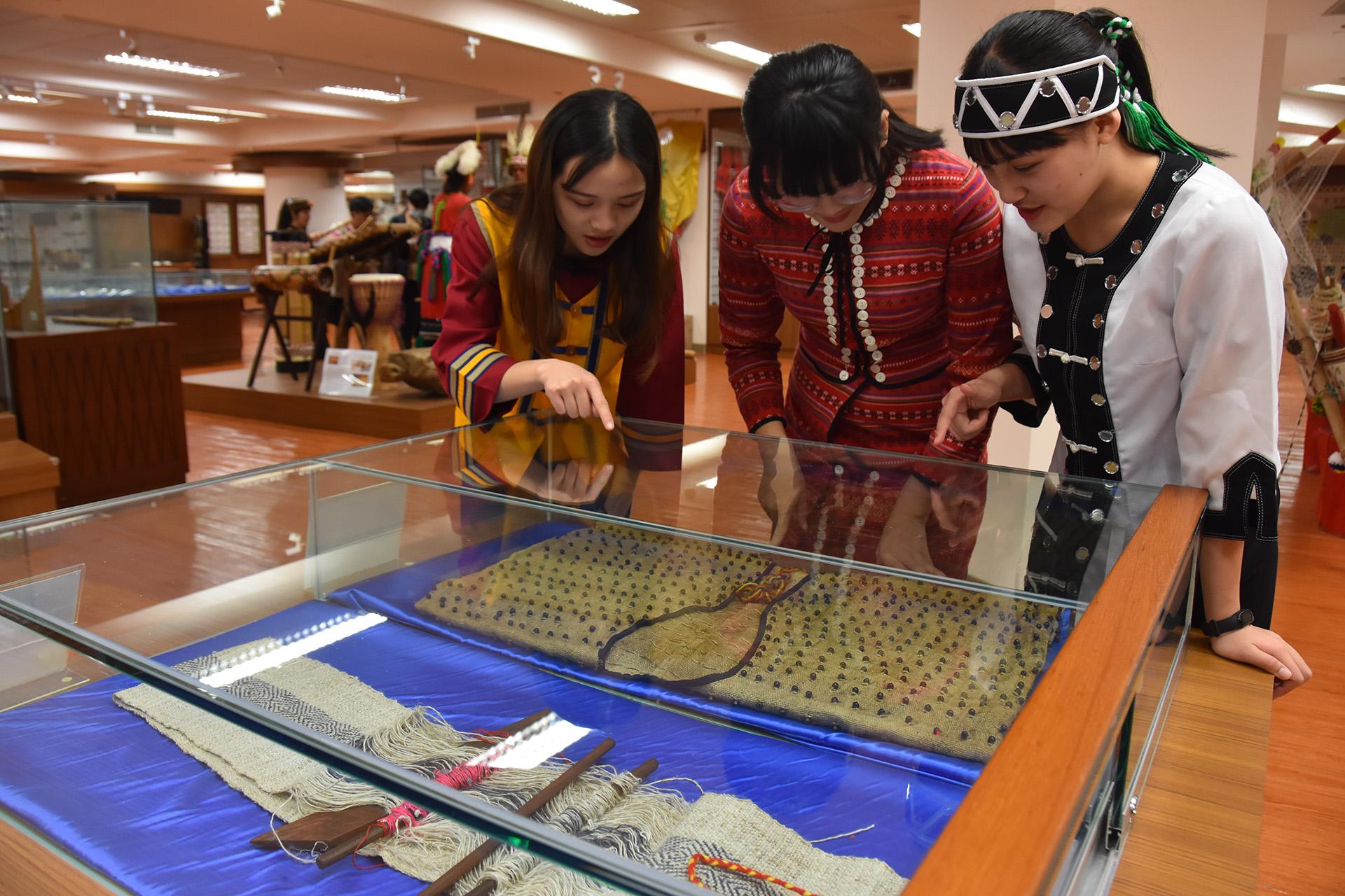 慈濟科技大學設有原住民博物館,讓學生更了解自己的族群文化。