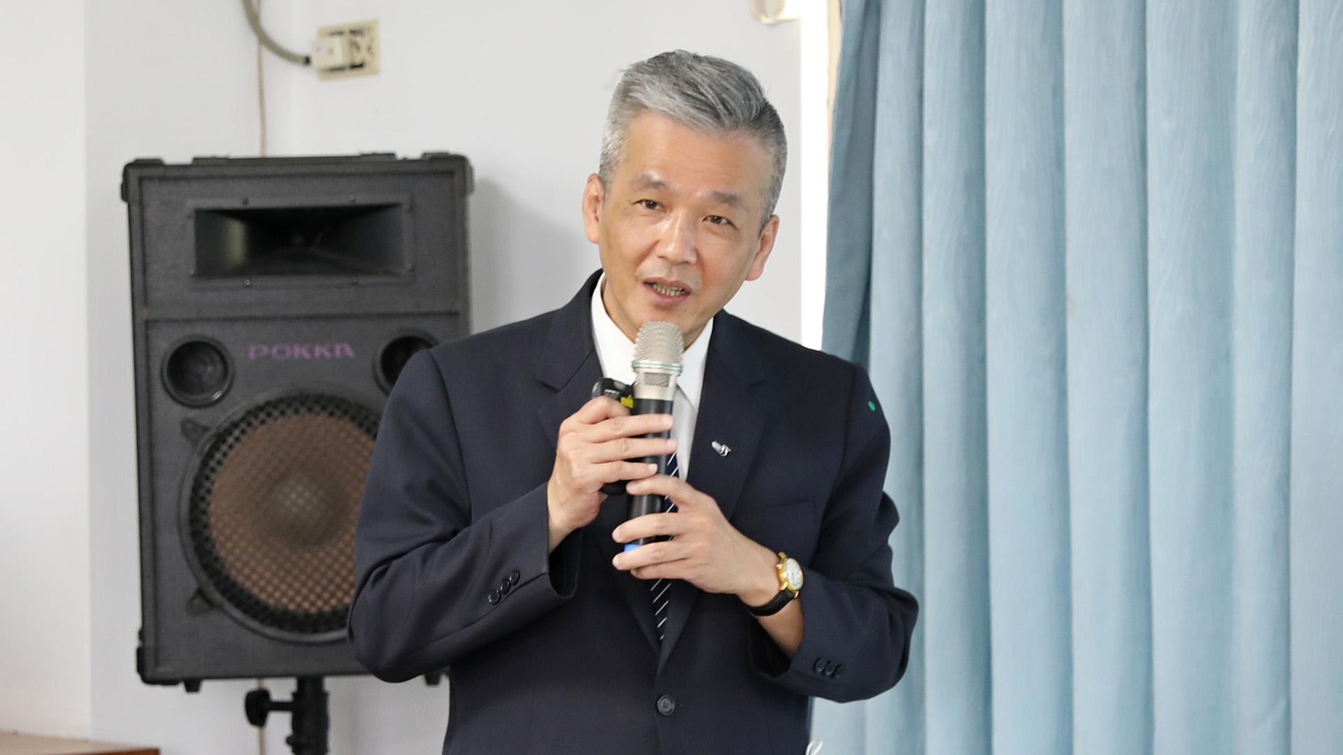 花蓮慈濟醫院陳星助主任秘書。