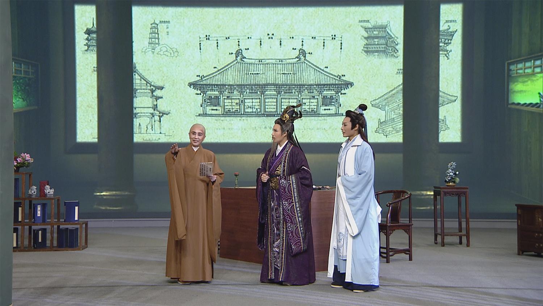 孫翠鳳飾演妙峰禪師有佛門魯班之稱。