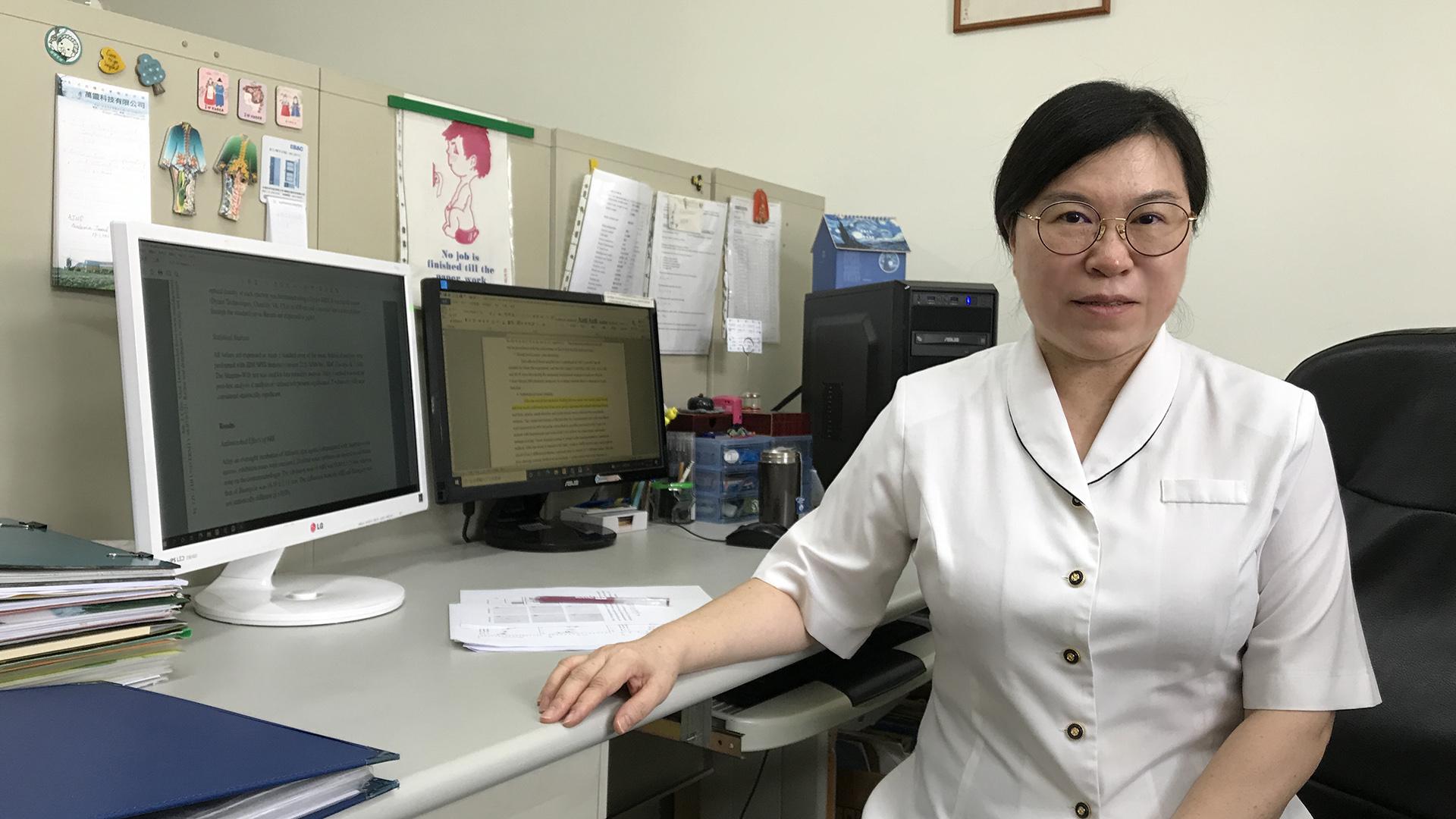 慈濟大學醫學科學研究所的李茹萍老師