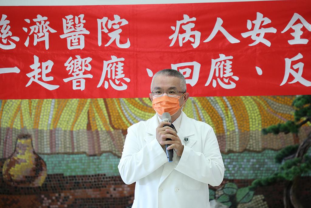 花蓮慈院婦產部副主任高聖博