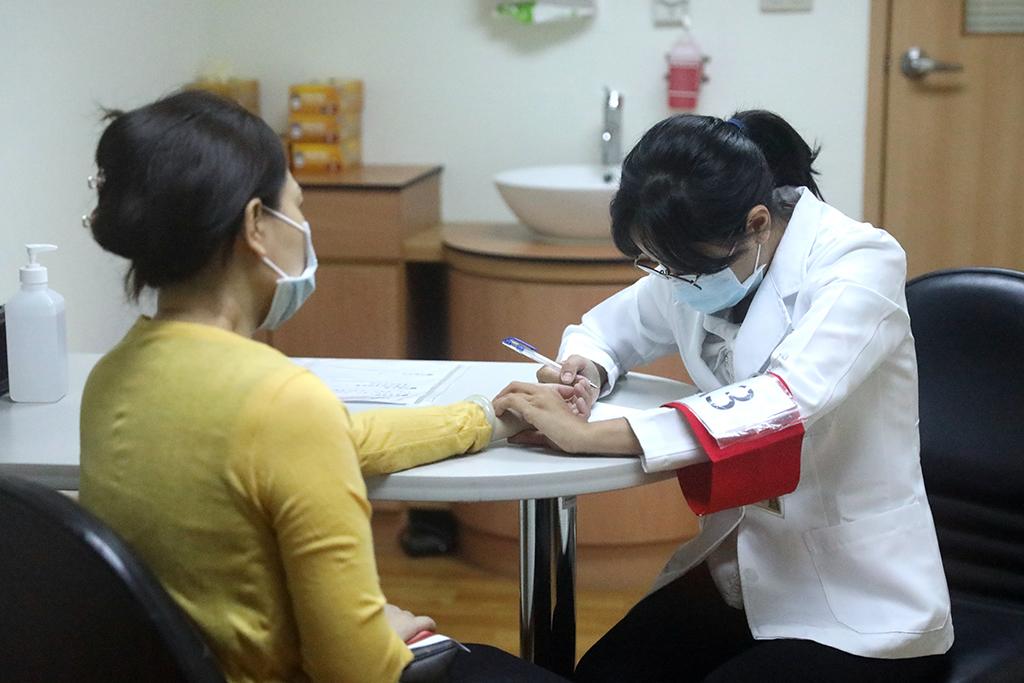 花蓮慈院中醫OSCE測驗 望聞問切實境模擬